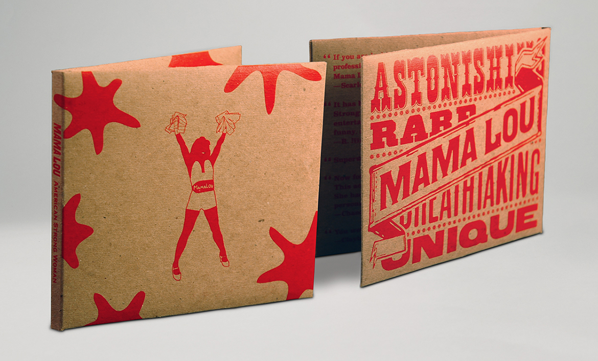 Branding for strong woman packaging