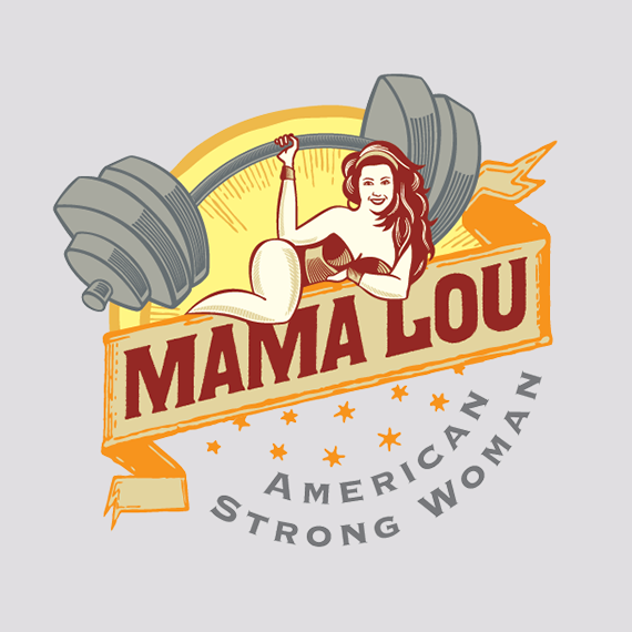 Logo for strong woman