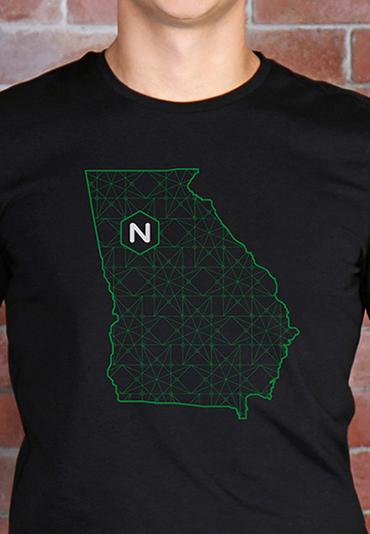 NGINX Atlanta Georgia tech conference t-shirt swag