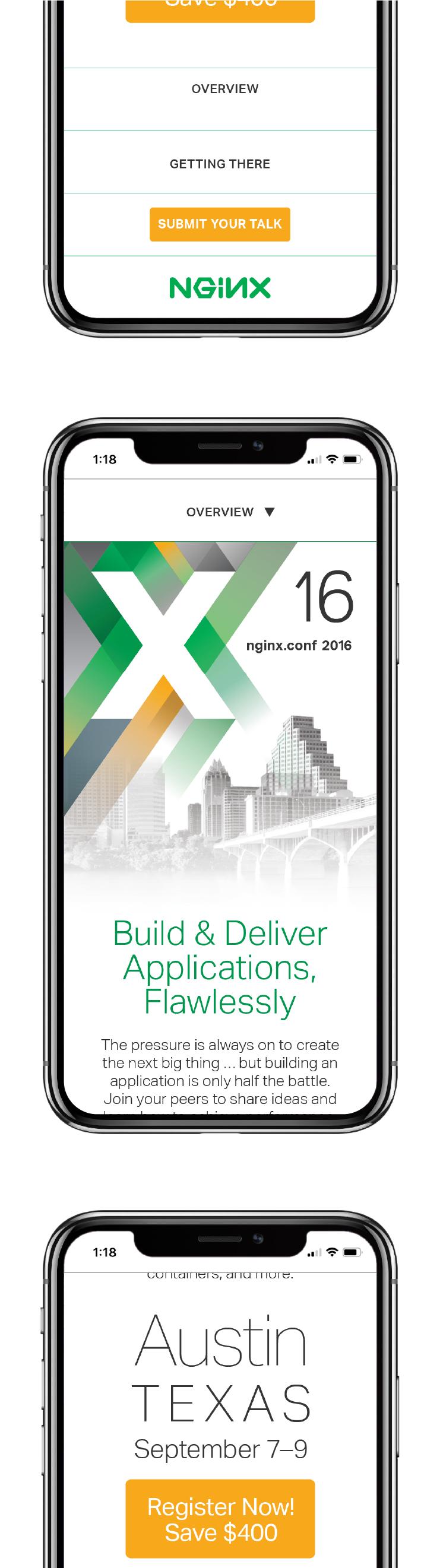 NGINX Austin website mobile responsive 1