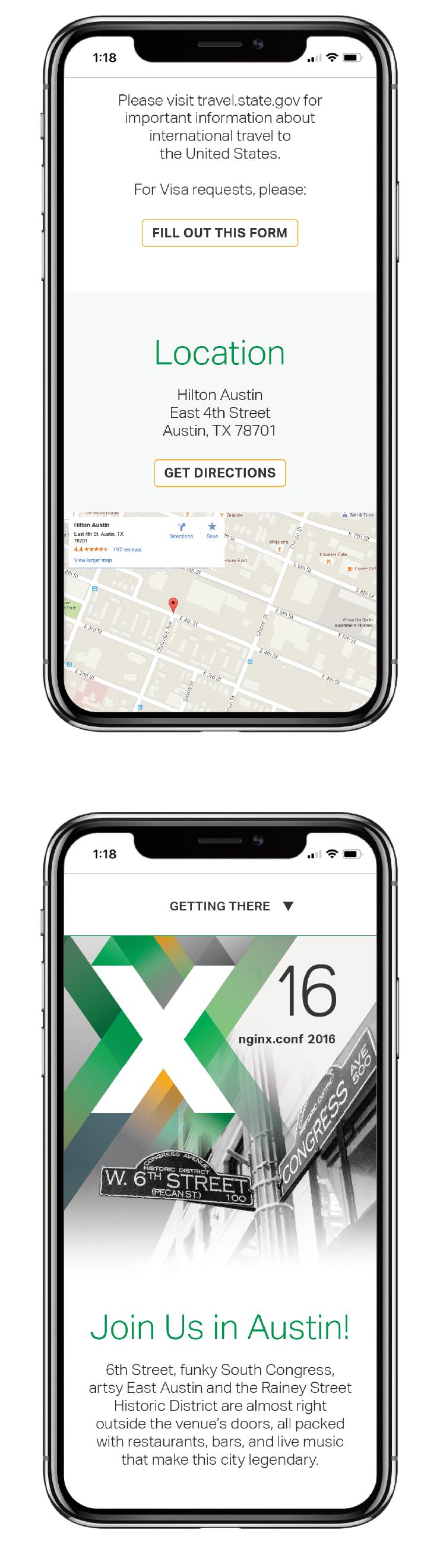 NGINX Austin website mobile responsive 2